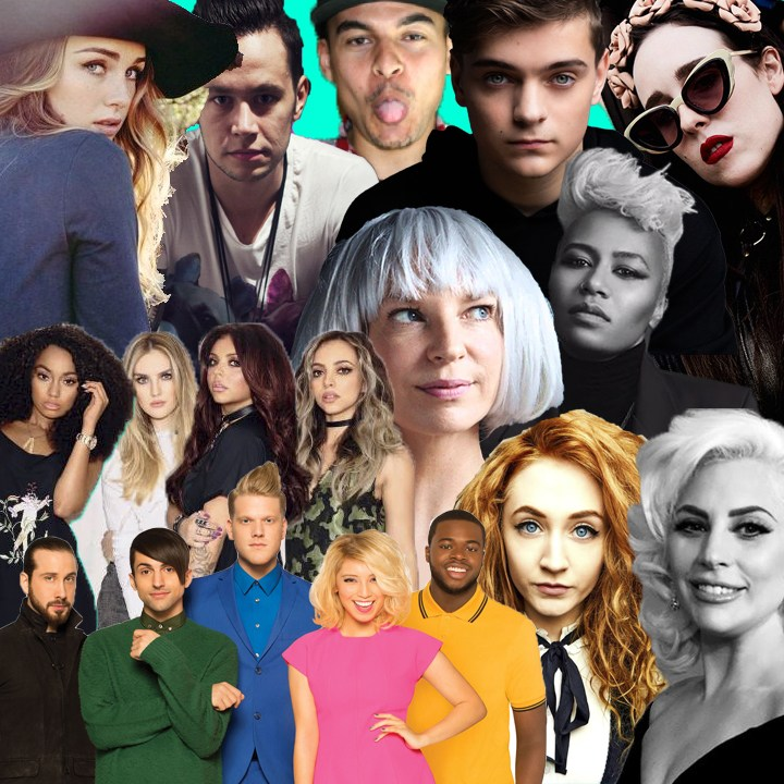 #MusicMonday Feat. Sia, Lady Gaga, Pentatonix, Allie X and More
